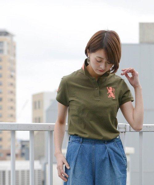 GIORDANOL(ジョルダーノ(レディース))/【ライクラ素材使用】3Dライオン刺繍ポロシャツ/GD18SS05318202_img28