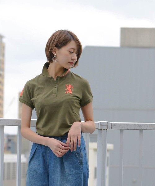 GIORDANOL(ジョルダーノ(レディース))/【ライクラ素材使用】3Dライオン刺繍ポロシャツ/GD18SS05318202_img29