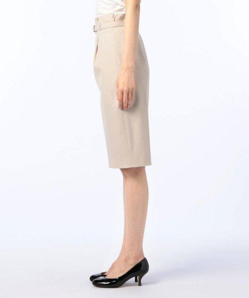 NOLLEY'S(ノーリーズ)/強撚OX タイトスカート/8-0035-1-06-017_img02