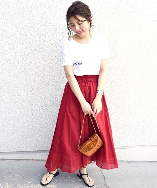 Khaju(カージュ)/Khaju:ギャザースカート/323220071_img10