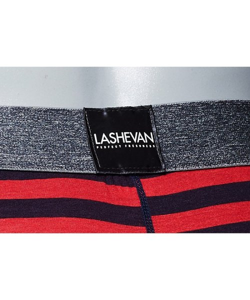 LASHEVAN(ラシュバン)/LASHEVAN【ラシュバン】Men's Underwear Rugger Border/LS0117-RGB_img07