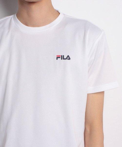 FILA(フィラ)/FILAPEメッシュ ワンポイントTシャツ/417329_img03