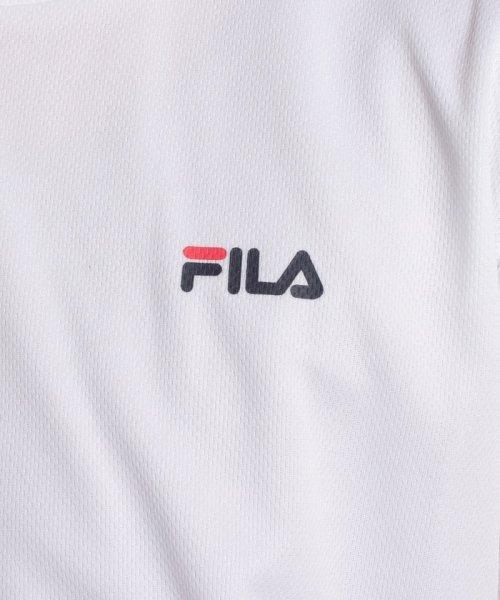 FILA(フィラ)/FILAPEメッシュ ワンポイントTシャツ/417329_img04