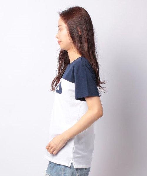 FILA(フィラ)/FILAロゴ切替Tシャツ/418602_img01