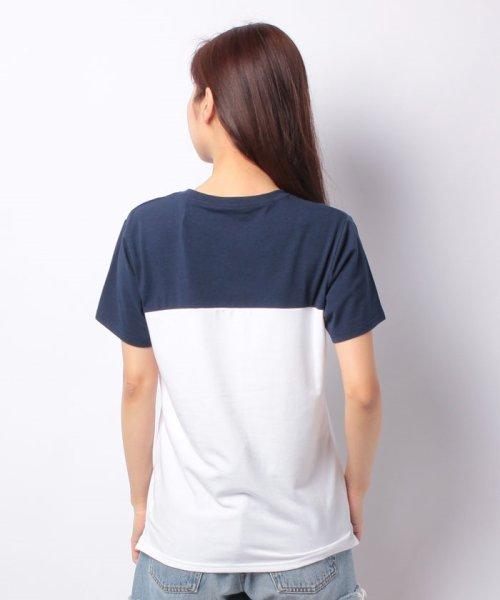 FILA(フィラ)/FILAロゴ切替Tシャツ/418602_img02