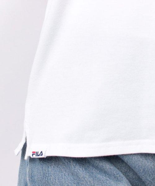 FILA(フィラ)/FILAロゴ切替Tシャツ/418602_img04