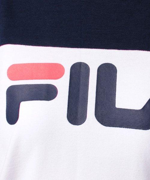 FILA(フィラ)/FILAロゴ切替Tシャツ/418602_img05