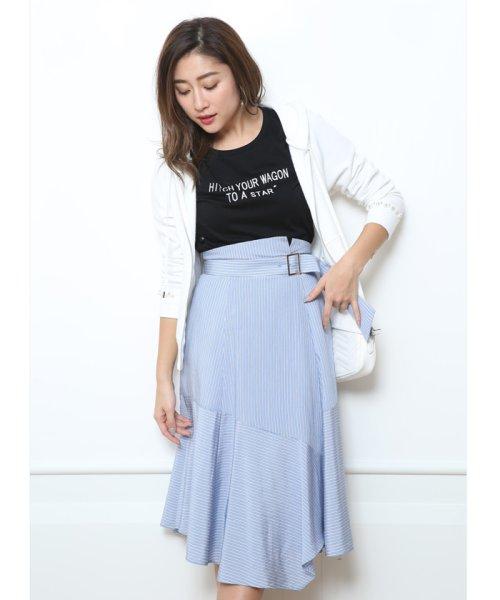 JUSGLITTY(ジャスグリッティー)/メッセージ刺繍Tシャツ/48296070_img04