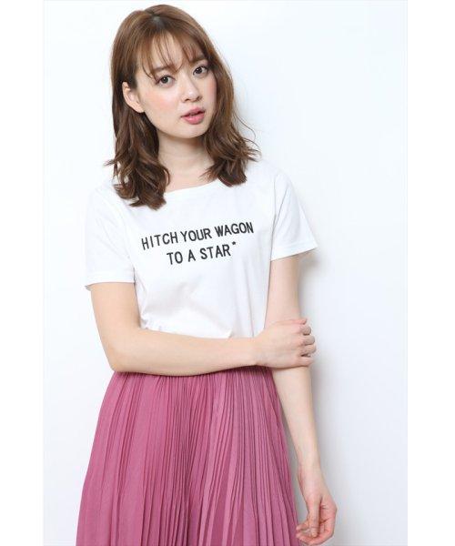 JUSGLITTY(ジャスグリッティー)/メッセージ刺繍Tシャツ/48296070_img07