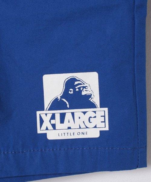 XLARGE KIDS(エクストララージ キッズ)/アイコンプリント入りハーフパンツ/9481104_img04