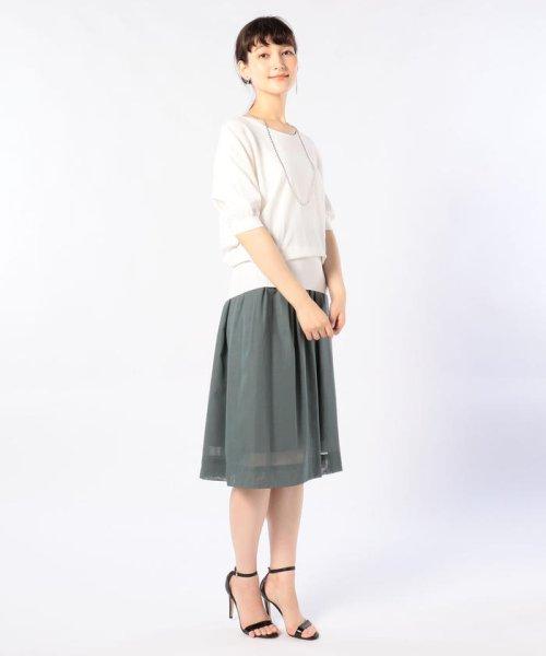 NOLLEY'S(ノーリーズ)/ボイルミモレフレアスカート/8-0035-2-06-001_img11