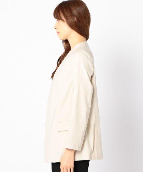 SHIPS WOMEN(シップス ウィメン)/【TVドラマ着用】リネンレーヨン羽織りジャケット/317010869_img02