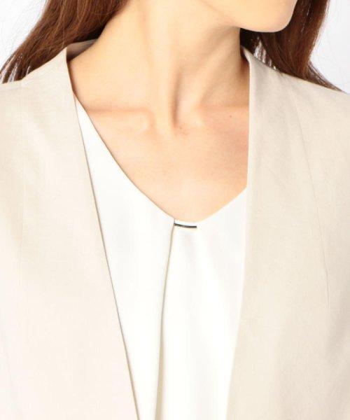 SHIPS WOMEN(シップス ウィメン)/【TVドラマ着用】リネンレーヨン羽織りジャケット/317010869_img05