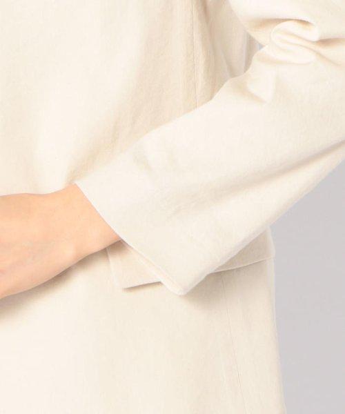 SHIPS WOMEN(シップス ウィメン)/【TVドラマ着用】リネンレーヨン羽織りジャケット/317010869_img06