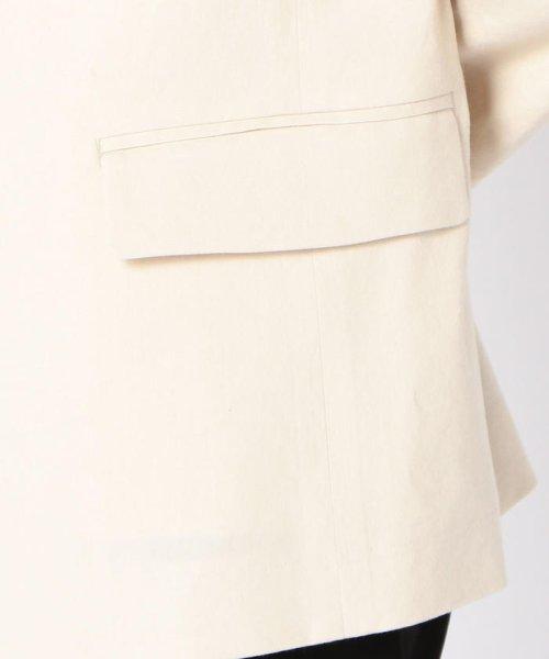 SHIPS WOMEN(シップス ウィメン)/【TVドラマ着用】リネンレーヨン羽織りジャケット/317010869_img07