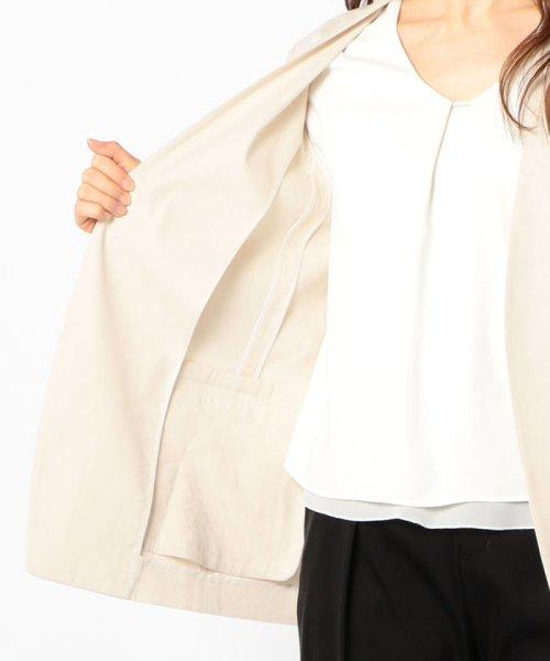 SHIPS WOMEN(シップス ウィメン)/【TVドラマ着用】リネンレーヨン羽織りジャケット/317010869_img09