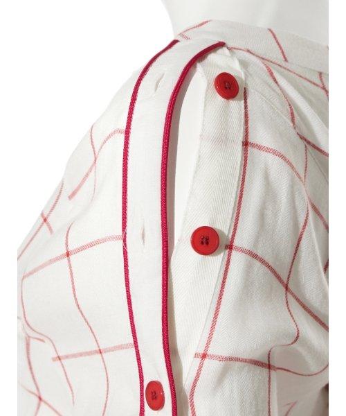 SNIDEL(スナイデル)/サイドボタンチェックシャツ/SWFB182075_img07
