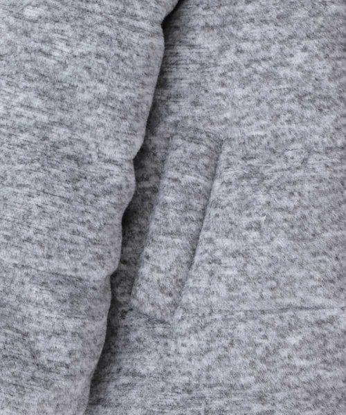 9c680649a78a6 100-130 メランジ起毛中綿コート WEB限定サイズ (500889192)