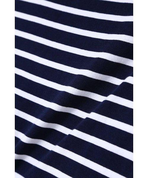 PROPORTION BODY DRESSING(プロポーション ボディドレッシング)/《BLANCHIC》オフショルボーダーカットソー/1218169300_img05