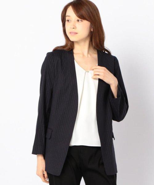 SHIPS WOMEN(シップス ウィメン)/【TVドラマ着用】リネンレーヨン羽織りジャケット/317010869_img15