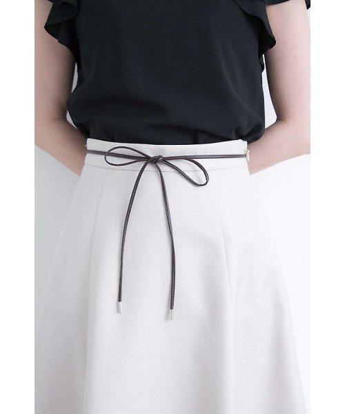 PROPORTION BODY DRESSING(プロポーション ボディドレッシング)/オザワルツツイルフレアスカート/1218120500_img05