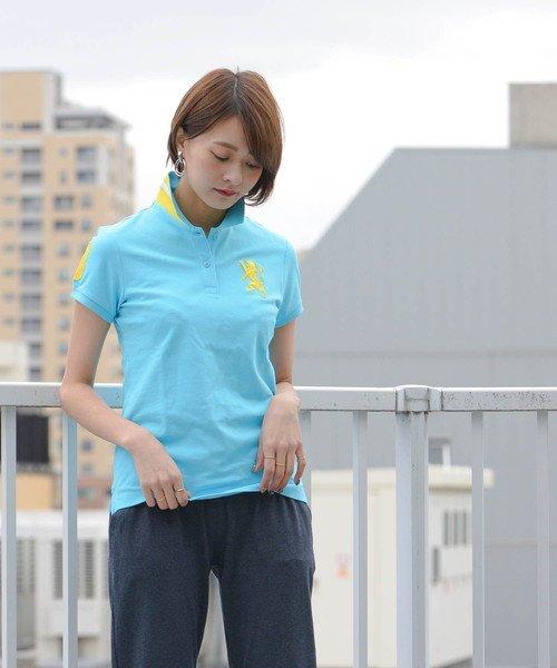 GIORDANOL(ジョルダーノ(レディース))/【ライクラ素材使用】3Dライオン刺繍ポロシャツ/GD18SS05318202_img33