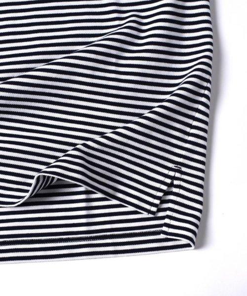 SHIPS MEN(シップス メン)/LACOSTE: 別注 ドロップテイル ビッグ ポケット Tシャツ/112115024_img07