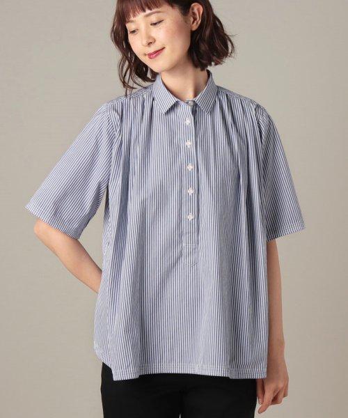 OLD ENGLAND(オールド イングランド)/WEB限定【OEPP】パジャマストライプシャツ/58406051_img04