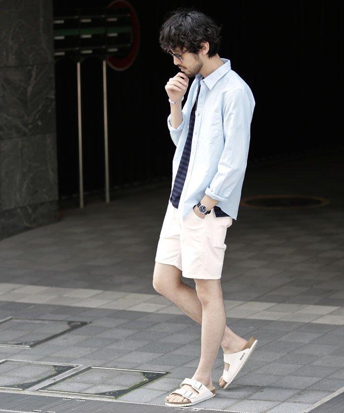7月 服装 メンズ シャツ(半袖、7分丈、長袖) 画像