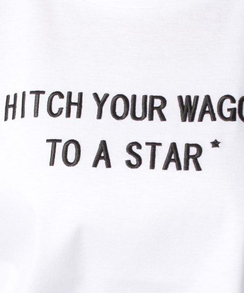 JUSGLITTY(ジャスグリッティー)/【TVドラマ着用】メッセージ刺繍Tシャツ/48296070_img11