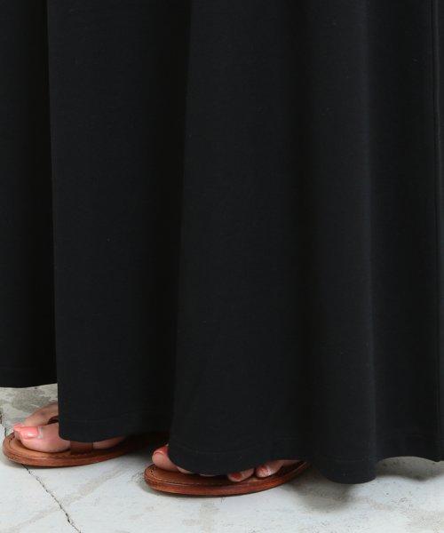 BEAUTY&YOUTH UNITED ARROWS(ビューティアンドユース ユナイテッドアローズ)/【WEB限定】by ※∴ベルト付きカットソーマキシワンピース/16266993320_img13