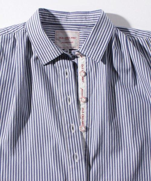 OLD ENGLAND(オールド イングランド)/WEB限定【OEPP】パジャマストライプシャツ/58406051_img08