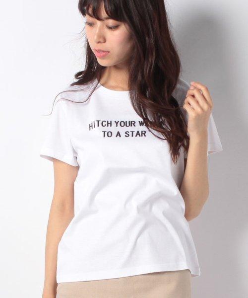 JUSGLITTY(ジャスグリッティー)/【TVドラマ着用】メッセージ刺繍Tシャツ/48296070_img13