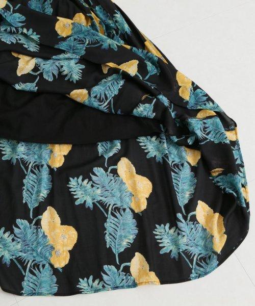 Spick & Span(スピック&スパン)/オオバナプリントギャザースカート3◆/18060200700030_img22