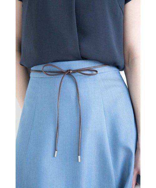 PROPORTION BODY DRESSING(プロポーション ボディドレッシング)/オザワルツツイルフレアスカート/1218120500_img21