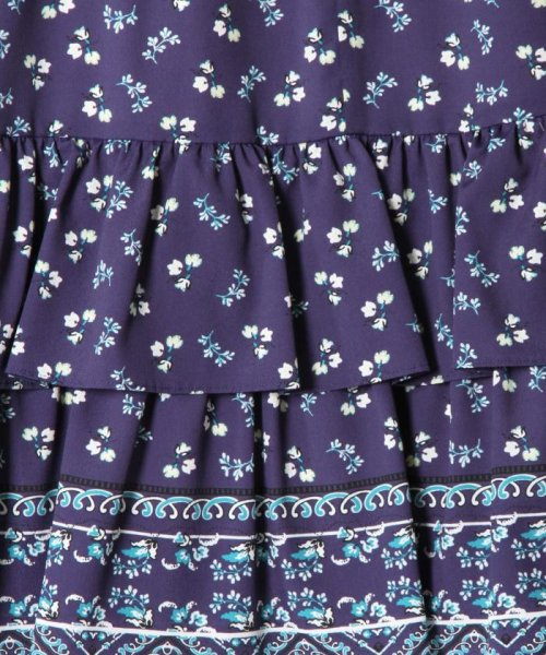 GRACE CONTINENTAL(グレースコンチネンタル)/小花ティアードスカート/18221139_img10