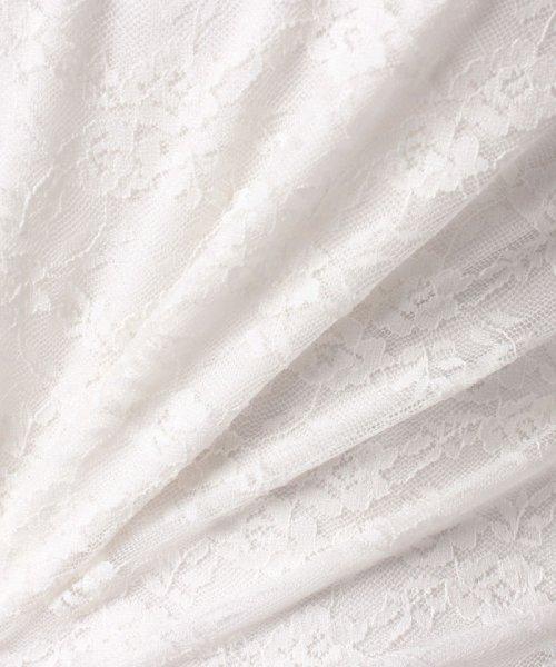 WEGO(ウィゴー)/WEGO/パフスリーブレース5分袖Tシャツ/BS18SM04L020_img16