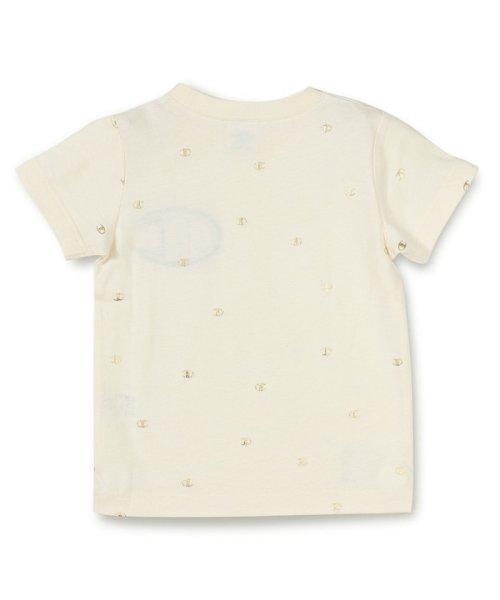 RADCHAP(ラッドチャップ)/RADCHAP×Champion箔CマークTシャツ/418206070_img01