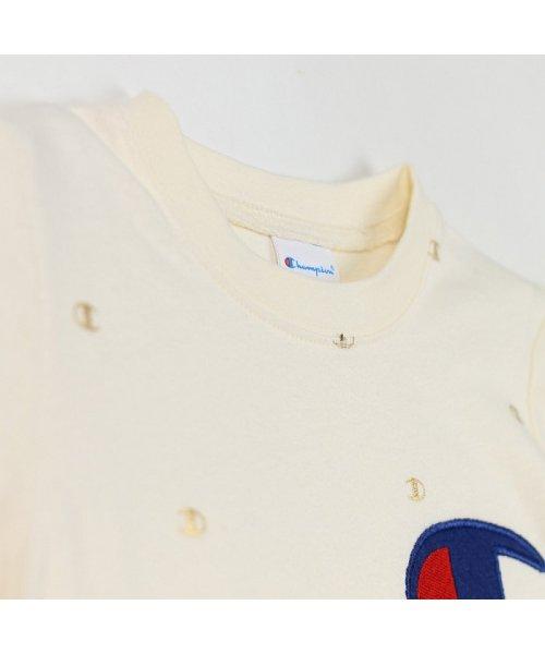 RADCHAP(ラッドチャップ)/RADCHAP×Champion箔CマークTシャツ/418206070_img02