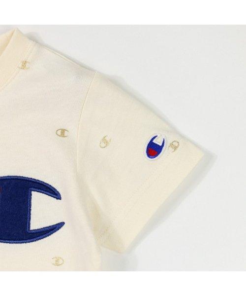 RADCHAP(ラッドチャップ)/RADCHAP×Champion箔CマークTシャツ/418206070_img04