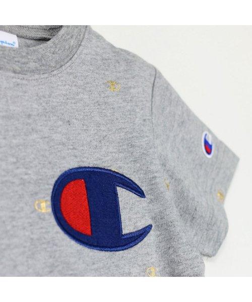 RADCHAP(ラッドチャップ)/RADCHAP×Champion箔CマークTシャツ/418206070_img08