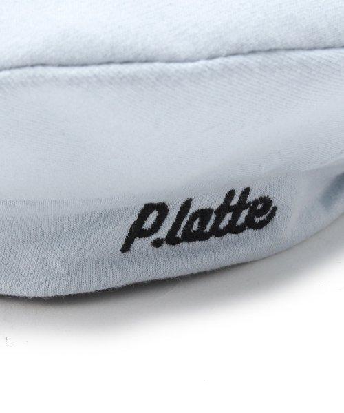 PINK-latte(ピンク ラテ)/レースアップベレー帽/99990932041032_img04
