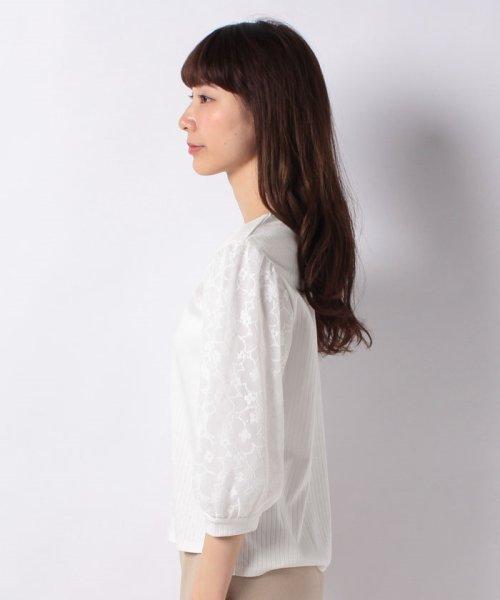 B donna(ビドンナ)/フラワーチュールシャツ/6082203_img01