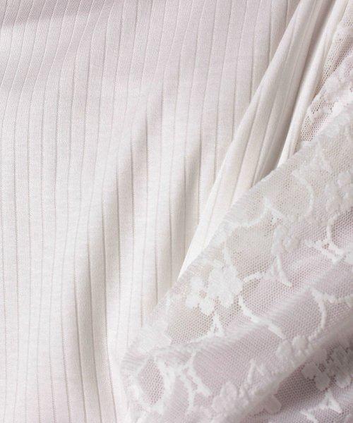 B donna(ビドンナ)/フラワーチュールシャツ/6082203_img04