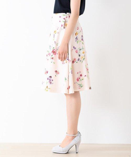 MISCH MASCH(ミッシュマッシュ)/花柄フレアースカート/850000258119681_img01