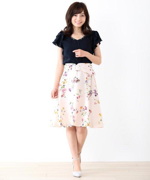 MISCH MASCH(ミッシュマッシュ)/花柄フレアースカート/850000258119681_img08