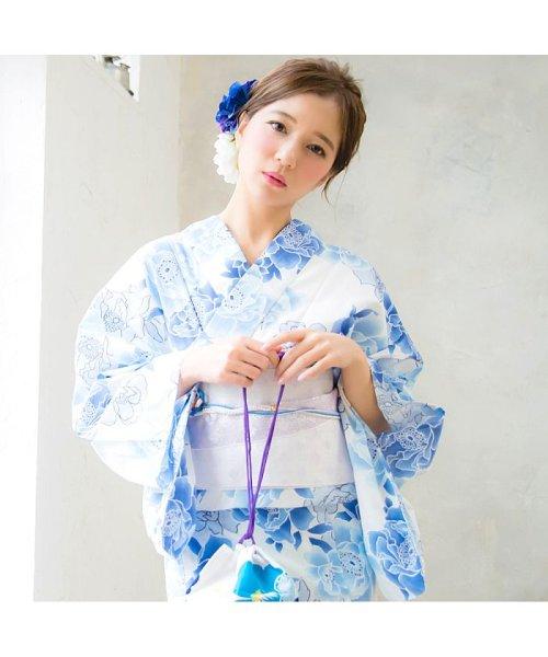 Dita(ディータ)/Dita【ディータ】1人で簡単に着られる作り帯の可愛い女性浴衣 4点フルセット(ゆかた・作り帯・下駄・着付けカタログ)/dl-2013yukata4_img13