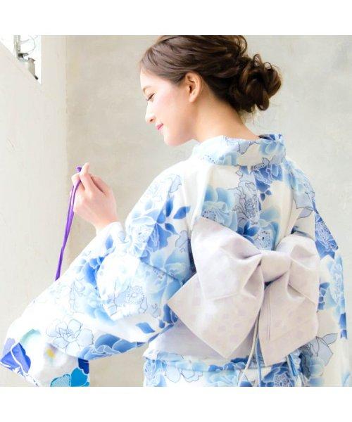 Dita(ディータ)/Dita【ディータ】1人で簡単に着られる作り帯の可愛い女性浴衣 4点フルセット(ゆかた・作り帯・下駄・着付けカタログ)/dl-2013yukata4_img14