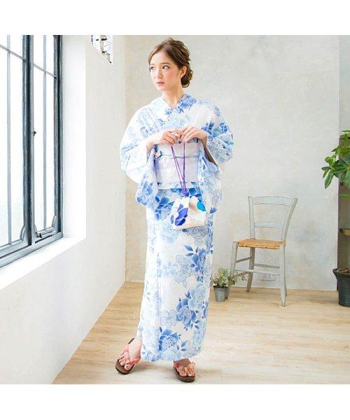 Dita(ディータ)/Dita【ディータ】1人で簡単に着られる作り帯の可愛い女性浴衣 4点フルセット(ゆかた・作り帯・下駄・着付けカタログ)/dl-2013yukata4_img15