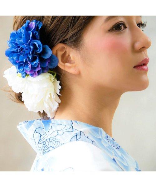 Dita(ディータ)/Dita【ディータ】1人で簡単に着られる作り帯の可愛い女性浴衣 4点フルセット(ゆかた・作り帯・下駄・着付けカタログ)/dl-2013yukata4_img16